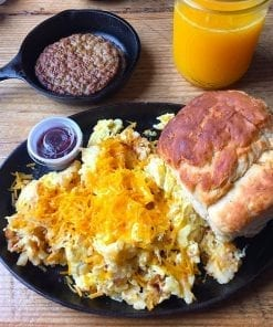 Country Style Eggs